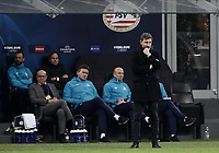 Football: UEFA Champions League -Group Stage - Group B - FC Internazionale Milano vs PSV Eindhoven, Giuseppe Meazza  (San Siro) Stadium, Milan Italy, December 11, 2018.<br /> PSV Eindhoven's coach Mark Van Bommel looks on during the Uefa Champions League football match between Inter Milan and PSV Eindhoven at Giuseppe Meazza  (San Siro) Stadium in Milan on December 11, 2018. <br /> UPDATE IMAGES PRESS/Isabella Bonotto