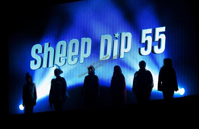 A photograph taken during the Sheep Dip Rehearsal on Thursday night Jan. 10, 2019 at the Eldorado Hotel Casino in Reno, Nev.
