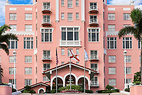 Don CeSar Beach Resort and Spa, St Petersburg, Florida, USA.