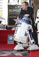 LOS ANGELES, CA - MARCH 8: Mark Hamill and R2-D2 at the Hollywood Walk Of Fame Ceremony honoring Mark Hamill in Los Angeles, California on March 8, 2018. <br /> CAP/MPI/FS<br /> &copy;FS/MPI/Capital Pictures