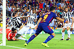UEFA Champions League 2017/2018 - Matchday 1.<br /> FC Barcelona vs Juventus Football Club: 3-0.<br /> Stefano Sturaro vs Luis Suarez.