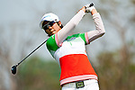 CHON BURI, THAILAND - FEBRUARY 16:  Song Hee Kim of South Korea tees off on the 16th hole during day one of the LPGA Thailand at Siam Country Club on February 16, 2012 in Chon Buri, Thailand.  Photo by Victor Fraile / The Power of Sport Images