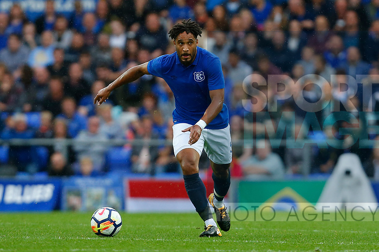 Everton's Ashley Williams during the pre season friendly match at Goodison Park Stadium, Liverpool. Picture date 6th August 2017. Picture credit should read: Paul Thomas/Sportimage