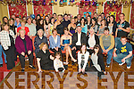 Key to the Door - Lisa Falvey from Ballymacelligot, seated centre having a wonderful time with family and friends at her 21st birthday party held in The Imperial Hotel on Saturday night..