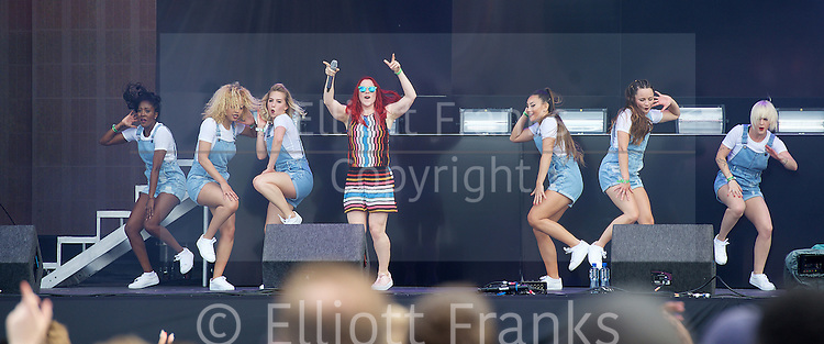 Wireless Festival 2015 <br /> at Finsbury Park, London, Great Britain <br /> 28th June 2015 <br /> <br /> <br /> Katy B <br /> <br /> Photograph by Elliott Franks<br /> <br /> Contact:<br /> Livepix<br /> <br /> Steve Gillett &amp; Angela Lubrano<br /> 1a Larchwood Close, <br /> Banstead, SM7 1HE, UK<br /> <br /> Telephone: 01737 373732<br /> <br /> Mobile :    07958 961 625<br /> e-mail: live@livepix.biz<br /> <br /> 2015 &copy; Elliott Franks