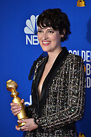 LOS ANGELES, USA. January 05, 2020: Phoebe Waller-Bridge in the press room at the 2020 Golden Globe Awards at the Beverly Hilton Hotel.<br /> Picture: Paul Smith/Featureflash