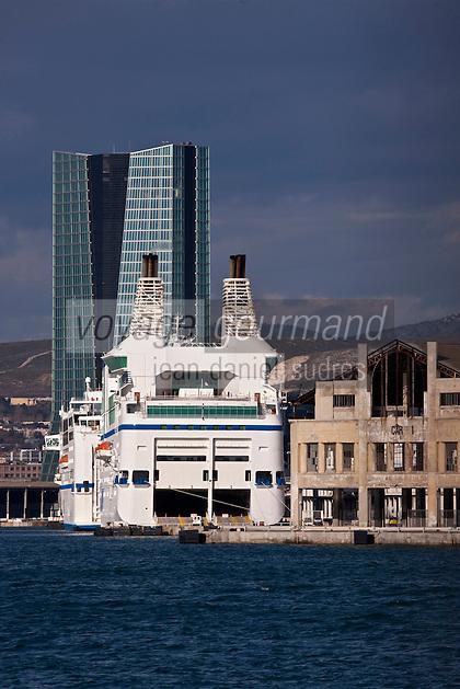 Europe/France/Provence-Alpes-Côte d'Azur/13/Bouches-du-Rhone/Marseille: Le Port de Commerce