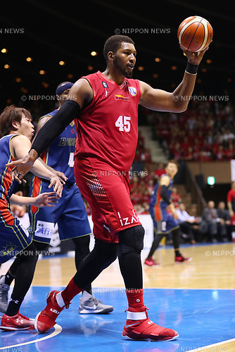 Dexter Pittman (Grouses), <br /> MAY 19, 2017 - Basketball : <br /> 2016-17 B.LEAGUE First Division Play-offs <br /> 2nd Round game <br /> between Toyama Grouses 79-71 Yokohama B-Corsairs <br /> at 2nd Yoyogi Gymnasium in Tokyo, Japan. <br /> (Photo by YUTAKA/AFLO SPORT)