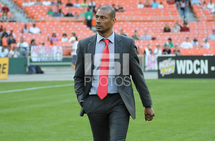 Toronto FC head coach Aron Winter. D.C. United defeated Toronto FC 3-1 at RFK Stadium, Saturday May 19, 2012.