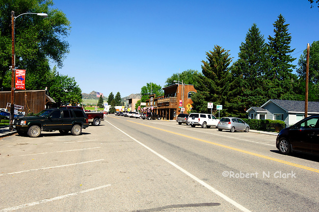 Ennis, Montana, located on the Madison River in Southwest Montana