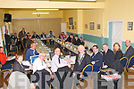 Councili Meeting: The scene in Clounmacon Community Centre for the historic Meeting of Kerry County Council on Monday last.