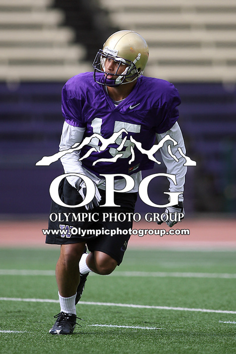 Apr 02, 2011:  Washington's #15 Jermaine Kearse during spring practice at Husky Stadium in Seattle, Washington...