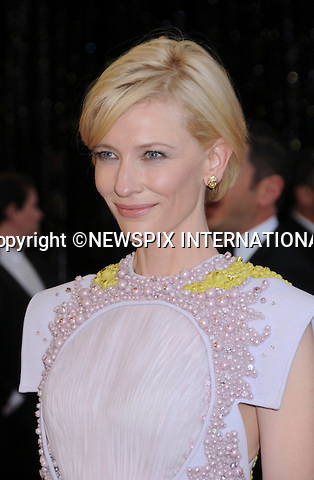 "CATE BLANCHET - Oscars 2011.83rd Academy Awards arrivals, Kodak Theatre, Hollywood, Los Angeles_27/02/2011.Mandatory Photo Credit: ©Phillips-Newspix International..**ALL FEES PAYABLE TO: ""NEWSPIX INTERNATIONAL""**..PHOTO CREDIT MANDATORY!!: NEWSPIX INTERNATIONAL(Failure to credit will incur a surcharge of 100% of reproduction fees)..IMMEDIATE CONFIRMATION OF USAGE REQUIRED:.Newspix International, 31 Chinnery Hill, Bishop's Stortford, ENGLAND CM23 3PS.Tel:+441279 324672  ; Fax: +441279656877.Mobile:  0777568 1153.e-mail: info@newspixinternational.co.uk"