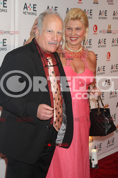 May 09, 2012 Richard Dreyfuss and Svetiana Erokhin attend the A&E Network 2012 Upfront at Lincoln Center in New York City. Credit: RW/MediaPunch Inc.