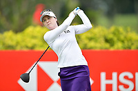 SINGAPORE - FEBRUARY 01: Brittany Altomare of USA on the 3rd tee during the second round of the HSBC Women's World Championship 2019 at Sentosa Golf Club - Tanjong Course, Singapore on March 01, 2019.<br /> .<br /> .<br /> .<br /> (Photo by: Naratip Golf Srisupab/SEALs Sports Images)<br /> .<br /> Any image use must include a mandatory credit line adjacent to the content which should read: Naratip Golf Srisupab/SEALs Sports Images