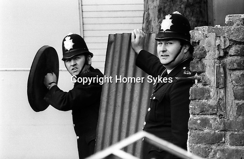 Nottinghill  Notting Hill Gate Carnival Riot, London W11 England 1976.