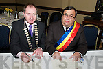 AGREEMENT: Attending the signing of a twinning agreement between Listowel and the Mountainous Region of Muscel, Romania at the Listowel Arms Hotel on Saturday night