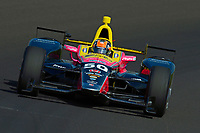 Verizon IndyCar Series<br /> Indianapolis 500 Practice<br /> Indianapolis Motor Speedway, Indianapolis, IN USA<br /> Tuesday 16 May 2017<br /> Jack Harvey, Michael Shank Racing with Andretti Autosport Honda<br /> World Copyright: F. Peirce Williams