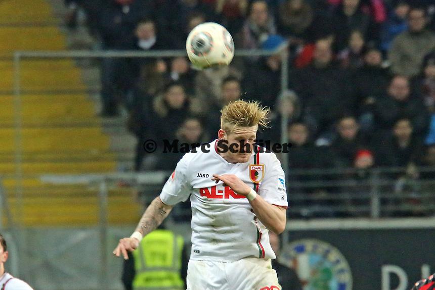 Andre Hahn (Augsburg) - Eintracht Frankfurt vs. FC Augsburg