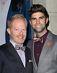 Jesse Tyler Ferguson, Justin Mikita attending the Broadway Opening Night Performance of 'IF/THEN' at the Richard Rodgers Theatre on March 30, 2014 in New York City.