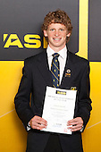 All Rounder Cameron Burstall from Auckland Grammar School. ASB College Sport Young Sportsperson of the Year Awards held at Eden Park, Auckland, on November 24th 2011.