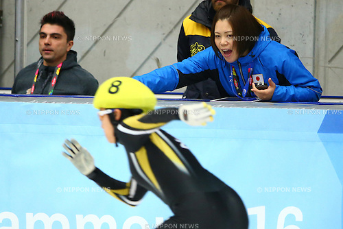 Wakana Miyajima (JPN),<br /> FEBRUARY 16, 2016 - Short Track : <br /> at Gjovik Olympic Cavern Hall<br /> during the Lillehammer 2016 Winter Youth Olympic Games <br /> in Lillehammer, Norway.<br /> (Photo by Shingo Ito/AFLO SPORT)