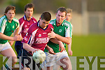 NaGaeil V Mike Fitzgerald (Scartaglin) in the 4th Div County League on Saturday evening at Na Gaeil GAA Grounds.................................................................... ........