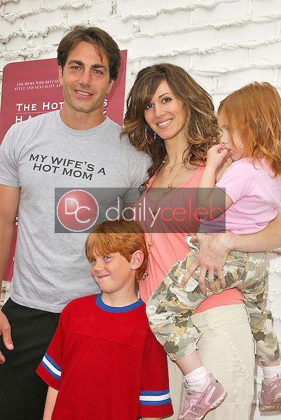 Michael Bergin with Joy Tilk-Bergin and family<br />