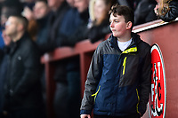 A Fleetwood Town fan looks on<br /> <br /> Photographer Richard Martin-Roberts/CameraSport<br /> <br /> The EFL Sky Bet League One - Fleetwood Town v Plymouth Argyle - Saturday 16th March 2019 - Highbury Stadium - Fleetwood<br /> <br /> World Copyright © 2019 CameraSport. All rights reserved. 43 Linden Ave. Countesthorpe. Leicester. England. LE8 5PG - Tel: +44 (0) 116 277 4147 - admin@camerasport.com - www.camerasport.com
