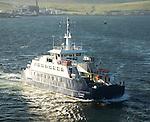 'Leirna' ferry between Lerwick and Bressay, Shetland Islands, Scotland