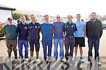The Cox's who took part in the Ladies Seine Boat race in Cahersiveen on Sunday were l-r; John O'Shea (Templenoe), Kieran Bender (Ballinskelligs), Johnny O'Connor (OTW), Dermot Walsh (Valentia), Noel Donnelly (Caherdaniel), Adrian Fitzgerald(Sneem), Daniel Daly (Cahersiveen) & Dean Reilly (Cromane).