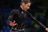 """ALESSIA MARCCHETTO of Italy performs at 2011 World Cup Kiev, """"Deriugina Cup"""" in Kiev, Ukraine on May 7, 2011."""
