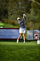 Cristie Kerr (USA) plays her shot from the 16th tee during the Final Round at the Kia Classic,Park Hyatt Aviara Resort, Golf Club &amp; Spa, Carlsbad, California, USA. 3/25/18.<br /> Picture: Golffile | Bruce Sherwood<br /> <br /> <br /> All photo usage must carry mandatory copyright credit (&copy; Golffile | Bruce Sherwood)