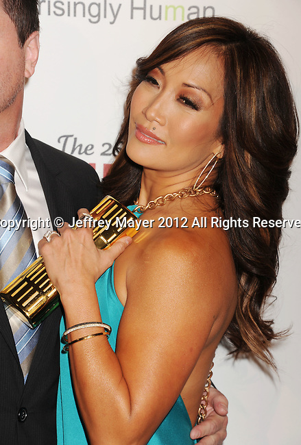BEVERLY HILLS, CA - MARCH 24: Carrie Ann Inaba attends the 26th Genesis Awards at The Beverly Hilton Hotel on March 24, 2012 in Beverly Hills, California.