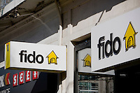 A Fido store is pictured in Toronto April 19, 2010. Fido Solutions, formerly owned by Microcell Telecommunications is a Canadian cellular telephone service provider.