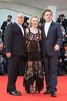Ethan Hawke, Amanda Seyfried, Paul Schrader at the First Reformed premiere, 74th Venice Film Festival in Italy on 31 August 2017.<br /> <br /> Photo: Kristina Afanasyeva/Featureflash/SilverHub<br /> 0208 004 5359<br /> sales@silverhubmedia.com
