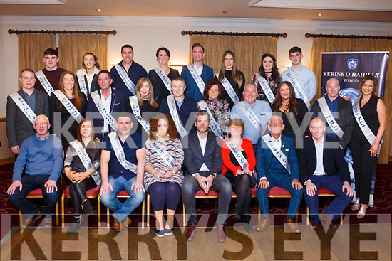 The contestants and committee members at the launch of the Kerins O'Rahilly Strictly Come Dancing fundraiser in the Clubhouse on Thursday night last.