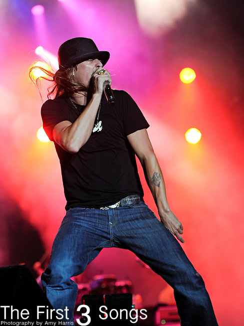 Kid Rock (Bob Ritchie) performs during day two of the 2011 Rock Fest on July 15, 2011 in Cadott, Wisconsin.