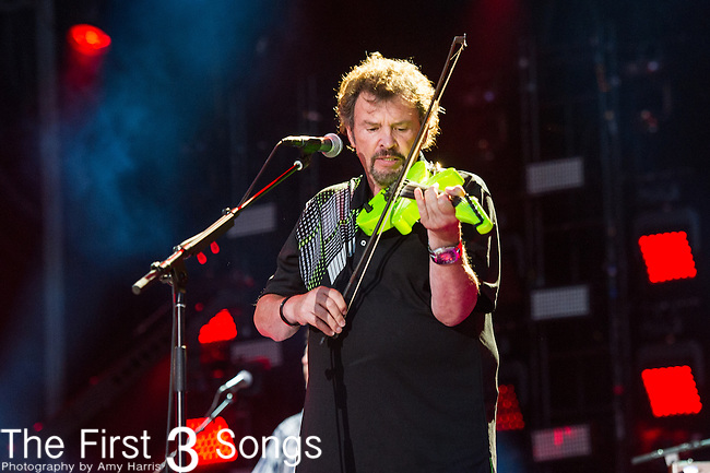 Jeff Cook of Alabama performs at LP Field during Day Four of the 2014 CMA Music Festival in Nashville, Tennessee.