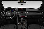 Stock photo of straight dashboard view of 2020 Toyota GR-Supra Premium 2 Door Coupe Dashboard