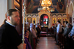Israel, Jaffa, Greek Orthodox St. Michael's Church on St Michael's Day