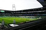 Tor zum 1:0 durch Kai Havertz (Leverkusen). Stadionuebersicht waehrend der Begegnung SV Werder Bremen gegen Bayer 04 Leverkusen im Weserstadion Bremen.<br /><br />Sport: Fussball: 1. Bundesliga: Saison 19/20: 26. Spieltag: SV Werder Bremen - Bayer 04 Leverkusen, 18.05.2020<br /><br />Foto: Marvin Ibo Güngör/GES /Pool / via gumzmedia / nordphoto<br /><br />Nur für journalistische Zwecke! Only for editorial use!<br /><br />Gemäß den Vorgaben der DFL Deutsche Fußball Liga ist es untersagt, in dem Stadion und/oder vom Spiel angefertigte Fotoaufnahmen in Form von Sequenzbildern und/oder videoähnlichen Fotostrecken zu verwerten bzw. verwerten zu lassen. DFL regulations prohibit any use of photographs as image sequences and/or quasi-video.