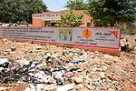 pharmacy on the edge of a dump