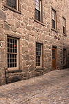 "Cobble stones define colonial New England; New Bedford, Massachusetts, USA; ""The whaling City"";"