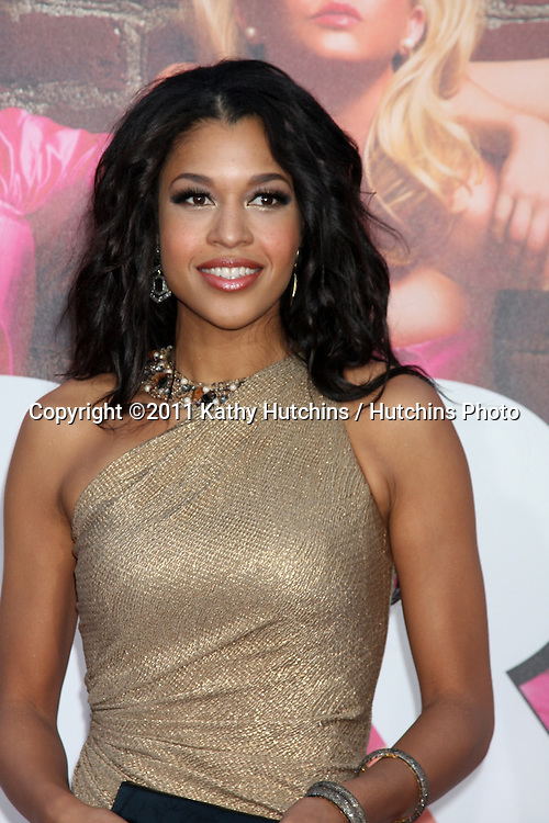 """LOS ANGELES - APR 27:  Kali Hawk arriving at the """"Bridesmaids"""" Premiere at Village Theater on April 27, 2011 in Westwood, CA.."""