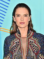 LOS ANGELES, CA - JUNE 02: Alessandra Ambrosio arrives at the 2018 iHeartRadio Wango Tango by AT&amp;T at Banc of California Stadium on June 2, 2018 in Los Angeles, California.<br /> CAP/ROT/TM<br /> &copy;TM/ROT/Capital Pictures