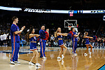 WICHITA, KS - MARCH 15: The University of Kansas takes on the University of Pennsylvania during the 2018 NCAA Men's Basketball Tournament held at Intrust Bank Arena on March 15, 2018 in Wichita, Kansas. (Photo by David Klutho/NCAA Photos via Getty Images)