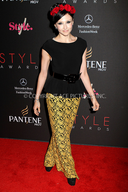 WWW.ACEPIXS.COM....September 5, 2012, New York City, NY.......Stacey Bendet arriving at the 9th Annual Style Awards at Lincoln Center on September 5, 2012 in New York City.........By Line: Nancy Rivera/ACE Pictures....ACE Pictures, Inc..Tel: 646 769 0430..Email: info@acepixs.com