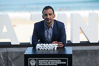 Spanish movie director Alejandro Amenabar poses during `Regression´ film presentation at 63rd Donostia Zinemaldia (San Sebastian International Film Festival) in San Sebastian, Spain. September 18, 2015. (ALTERPHOTOS/Victor Blanco) /NortePhoto.com