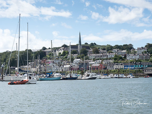 The village of Crosshaven in Cork Harbour where so many plans to celebrate Royal Cork's 300th Birthday have been postponed til 2021. Photo: Bob Bateman
